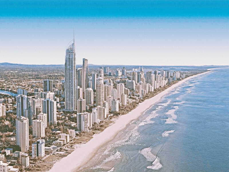 オーストラリア海岸街