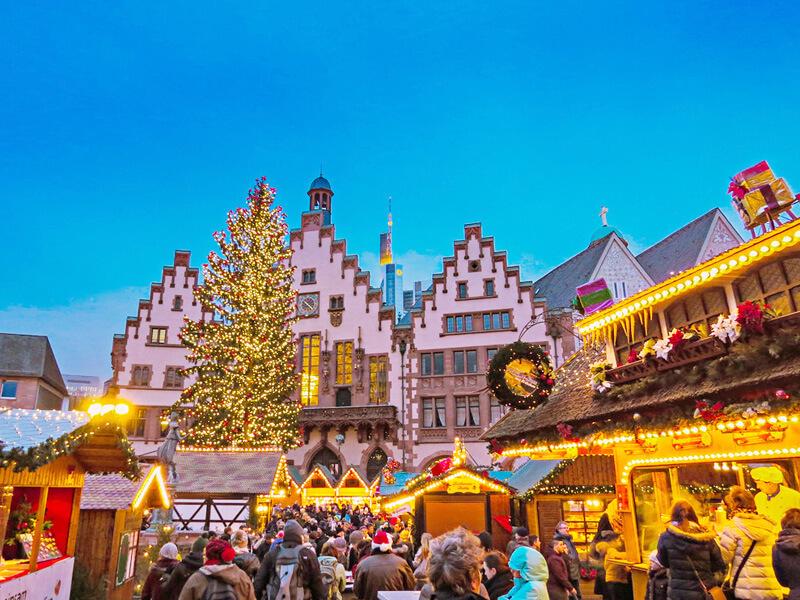 クリスマス・マーケット(ドイツ・フランクフルト)