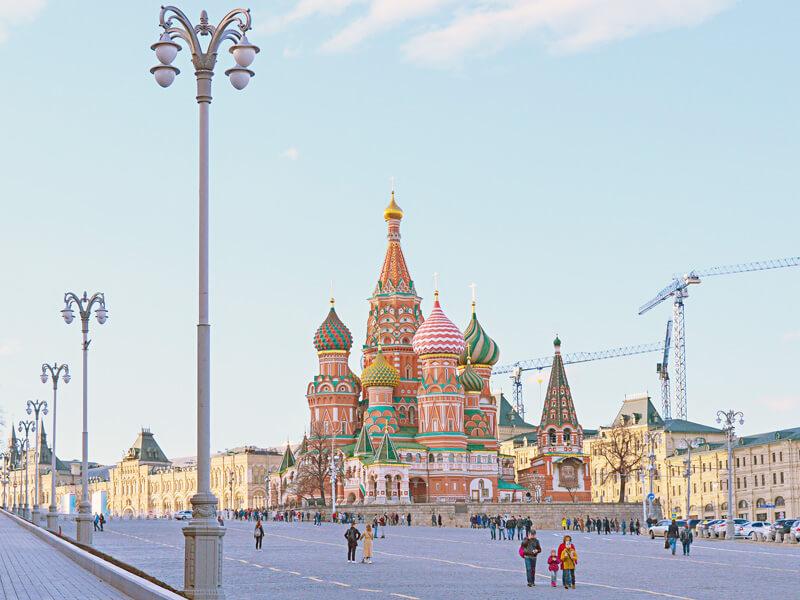 ロシアの聖ワシリイ大聖堂