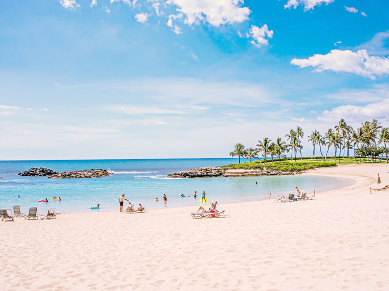 ハワイ・ビーチ画像