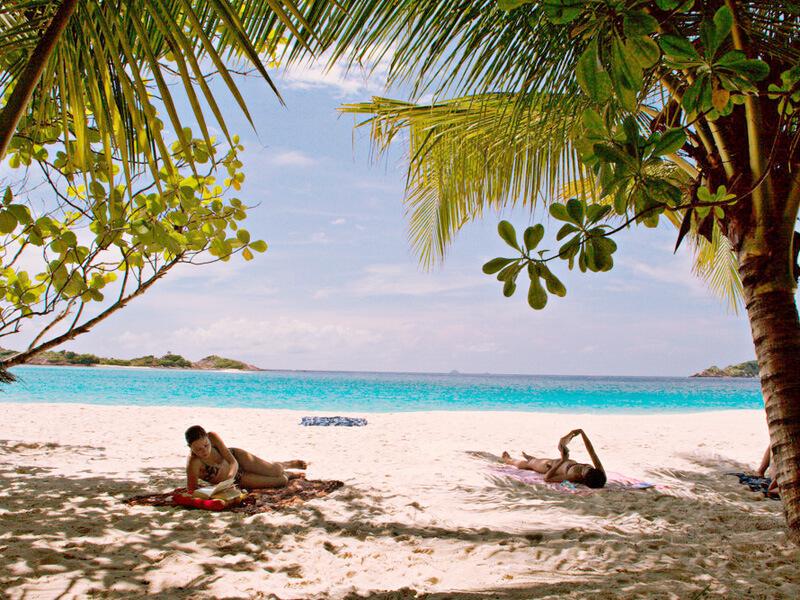 レダン島ビーチ