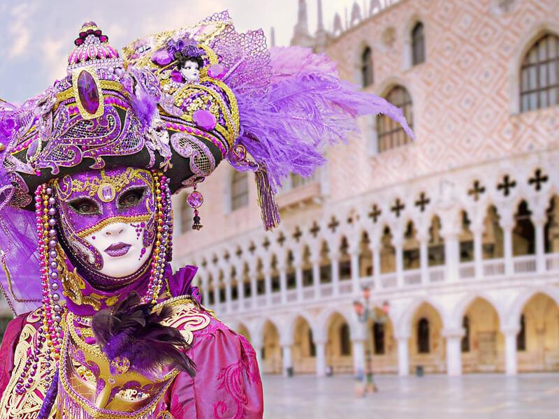 ベネチアカーニバルの様子