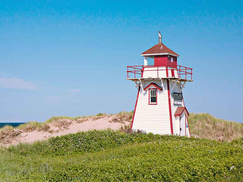 プリンスエドワード島の灯台