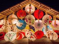 日本の和傘、日本イメージ画像