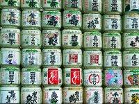日本酒の酒樽