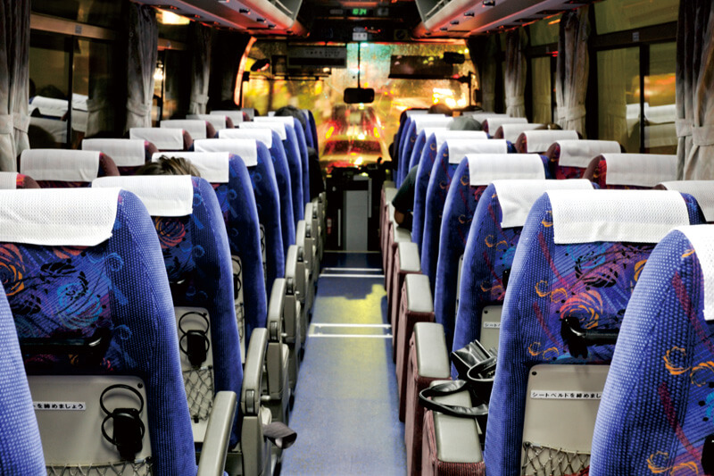バスの座席 イメージ