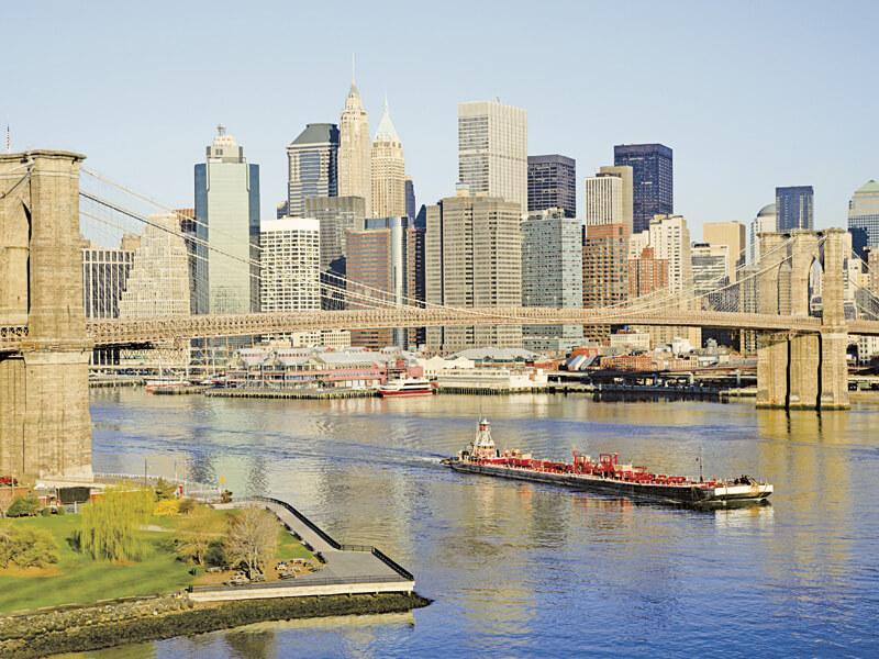 マンハッタンの風景