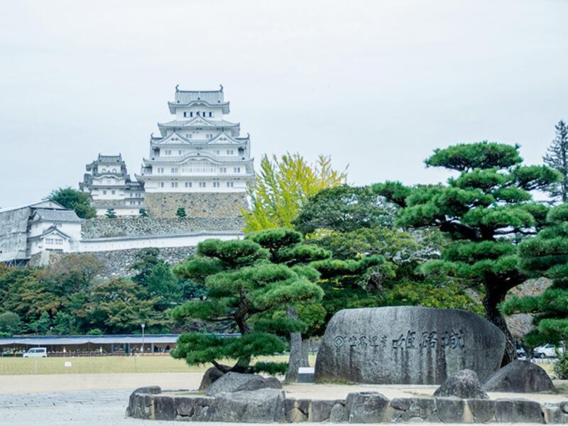 姫路城入り口近辺