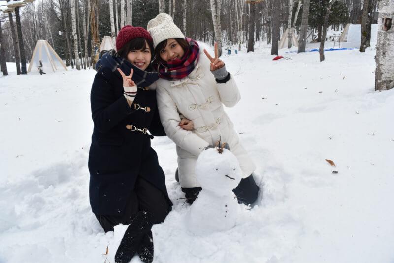 ℃-ute鈴木愛理と松元絵里花が冬の北海道でスキーに挑戦!旅の終わりにはサプライズが…