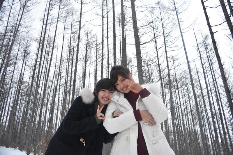 ℃-ute鈴木愛理と松元絵里花が北海道を大満喫!冬の旭山動物園や富良野スキー場など!