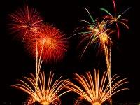 琉球海炎祭、花火