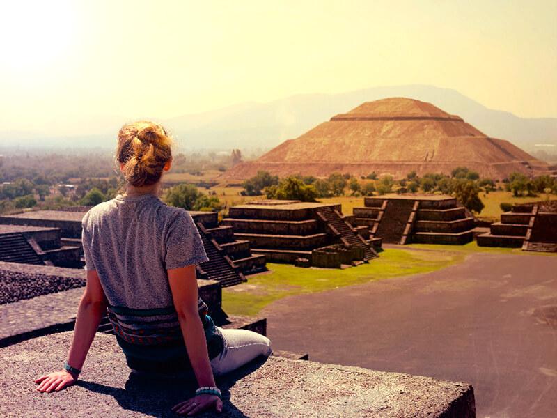 メキシコ・テオティワカン遺跡
