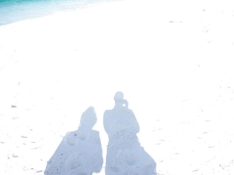 プライベート感たっぷりのハイアムズビーチ