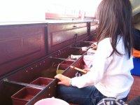 山中湖ワカサギ釣りドーム船