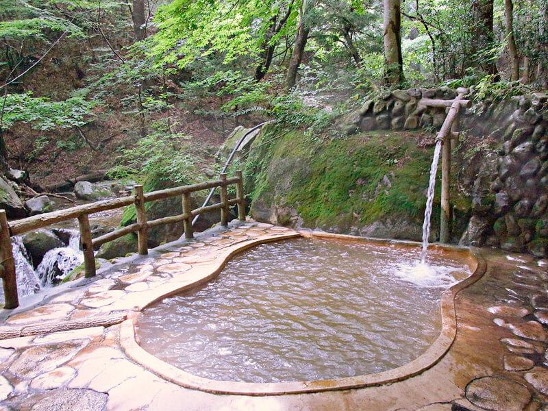 日本の温泉、旅イメージ画像