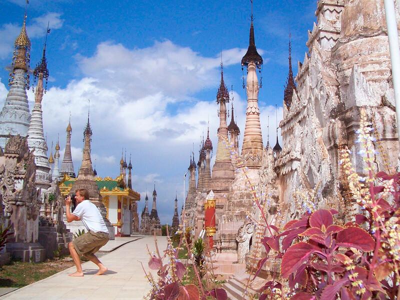 カックー遺跡 外国人観光客