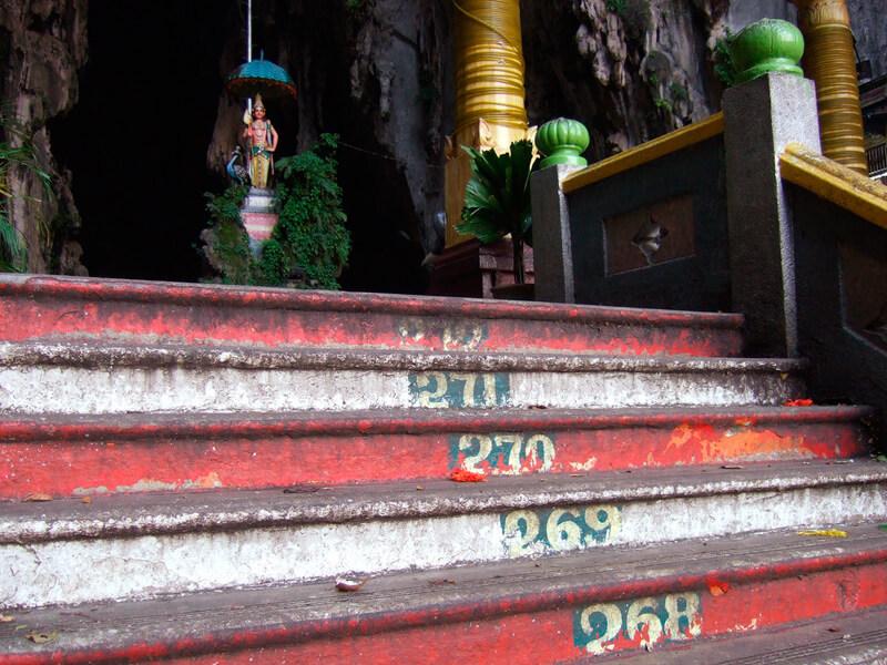 バトゥ洞窟 階段
