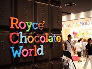 Royce chocolate world