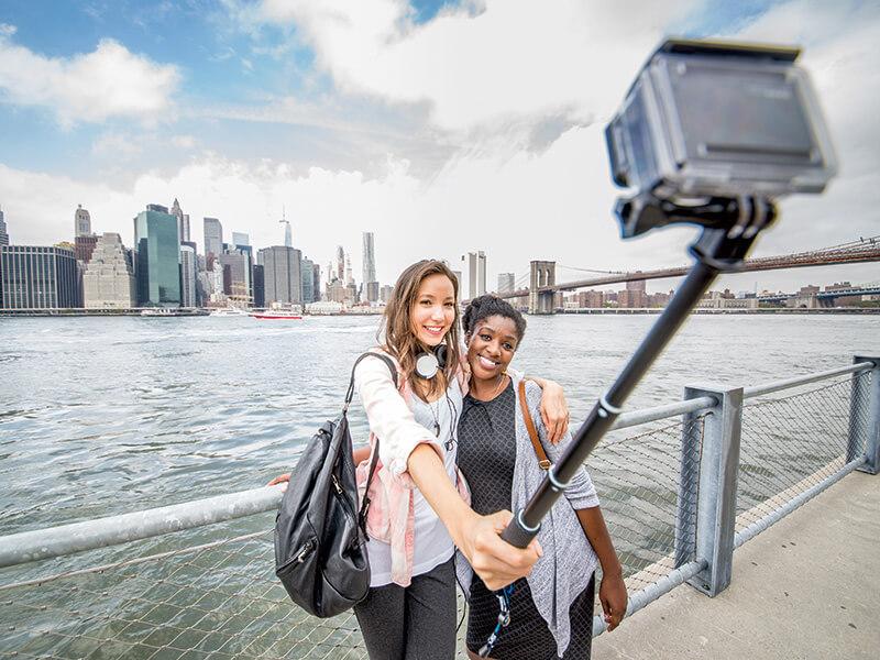 GoProでセルフィー