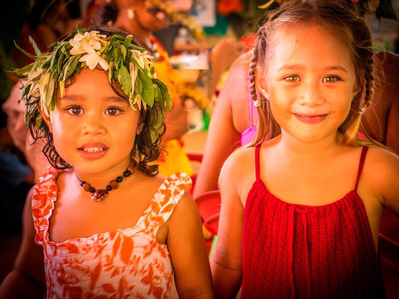 ポリネシア・女の子