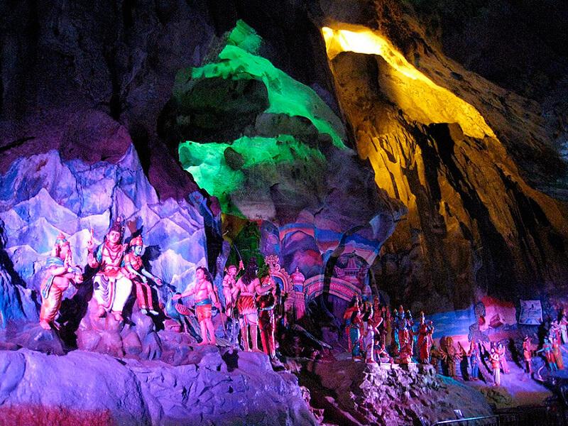 バトゥ洞窟 洞窟内