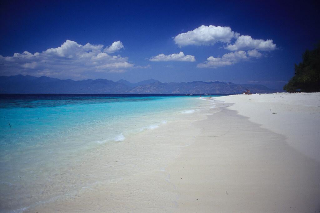 ロンボク島のビーチ