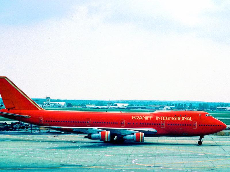 ブラニフインターナショナルの飛行機