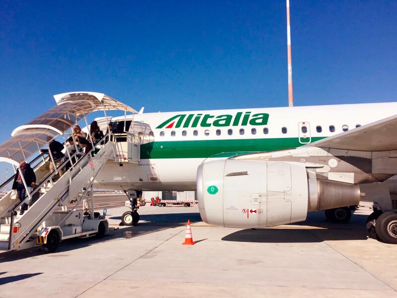 アリタリア航空機