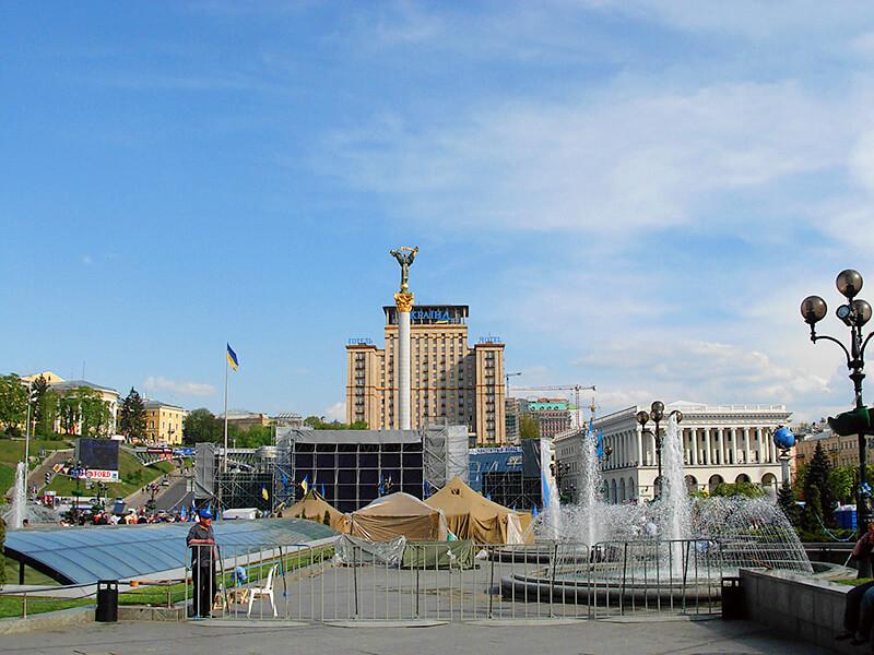 キエフの市街地