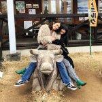 人気モデルの有末麻祐子と浦浜アリサが春の松本・安曇野へ。信州の自然を感じる!
