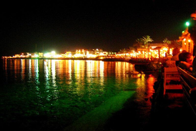 ダハブの夜景