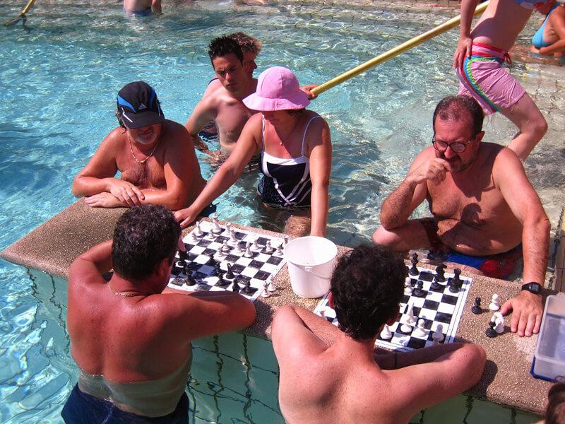 温泉チェス