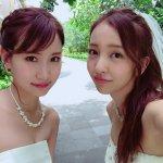 板野友美と永尾まりやのバリ島女子旅第2弾!純白のウェディングドレス姿も披露!