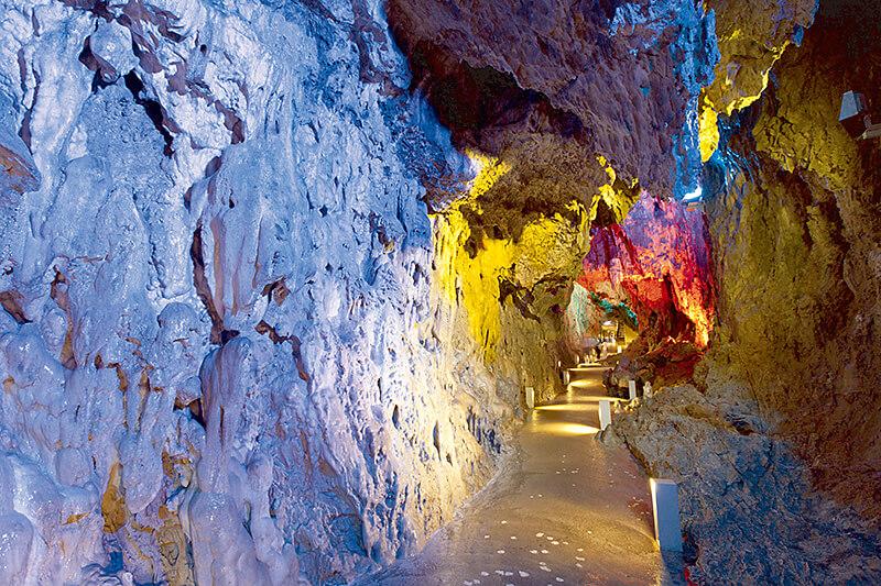 日本三大鍾乳洞 龍泉洞
