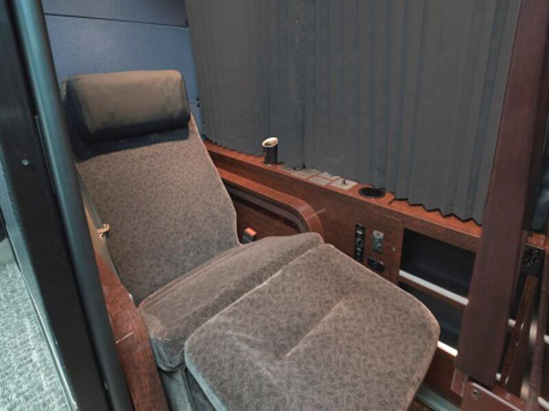 ドリームスリーパーの座席