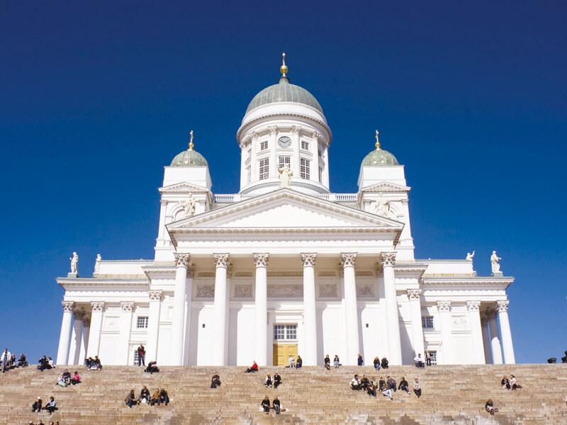 フィンランド ヘルシンキ大聖堂