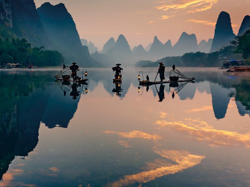 桂林の景色