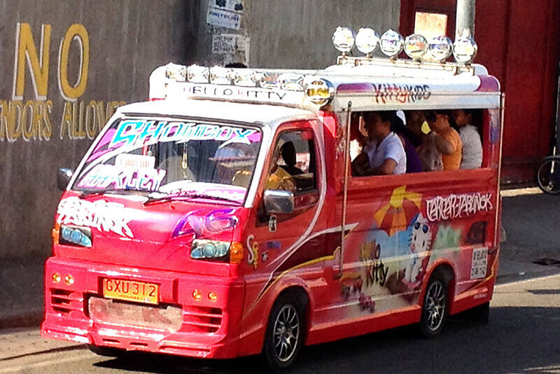 乗り合いバス ジプニー