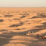 どこまでも続く赤レンガ色の砂…サハラ砂漠でできることとは?