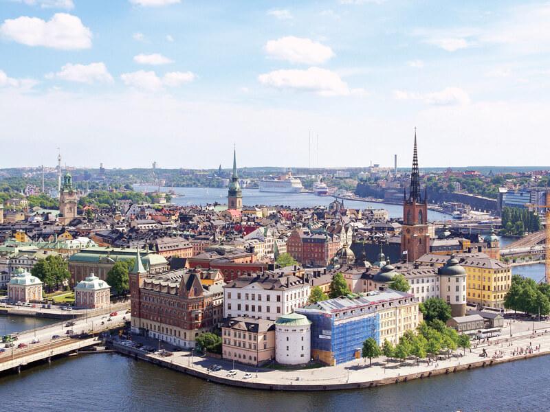 スウェーデン ガムラスタンの全体