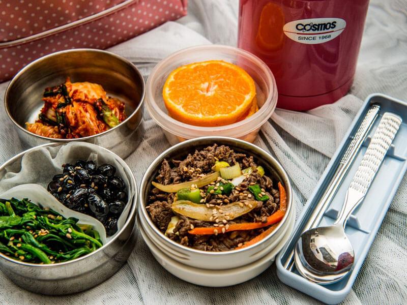 韓国のお弁当