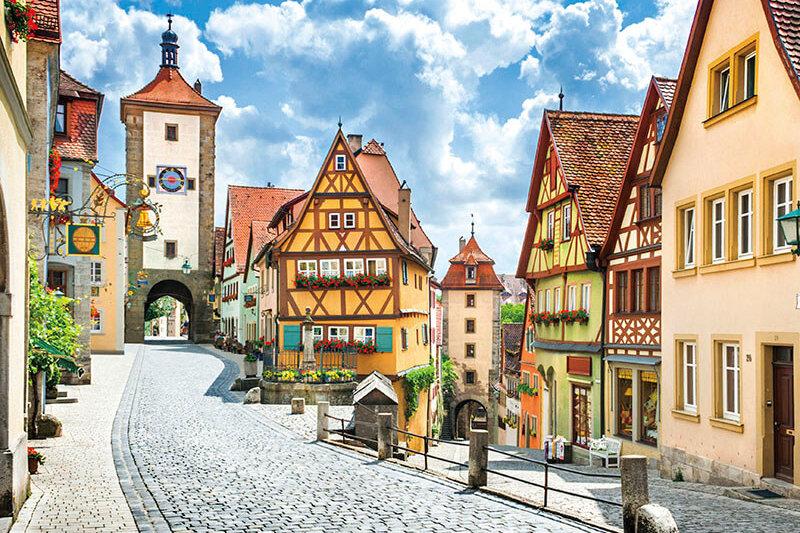 一度は行ってみたい! ドイツ・ロマンチック街道の「ローテンブルク」が絵本のよう