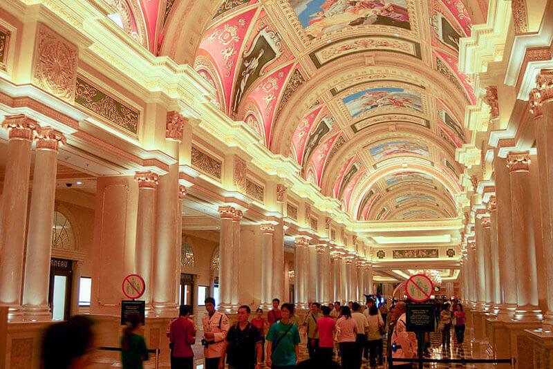 ヴェネチアンマカオ ホテル内部