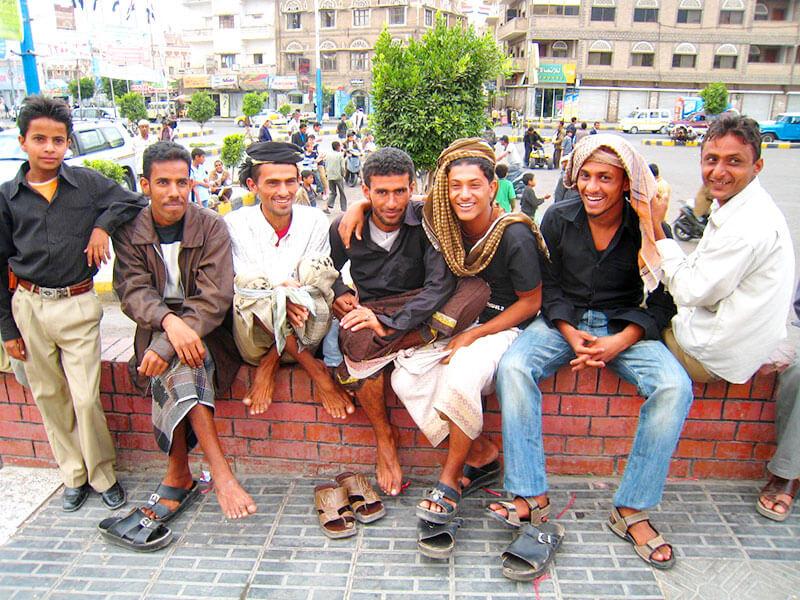 イスラム圏の男性たち