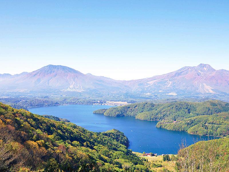 信州野尻湖と北信5岳の秋 黒姫山 妙高山 戸隠山 飯綱山 斑尾山