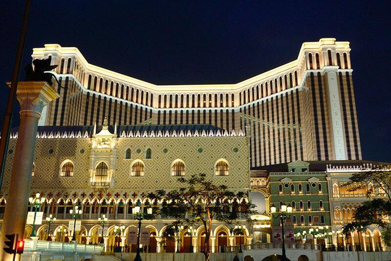 ザ ヴェネチアン マカオ リゾートホテルの外観