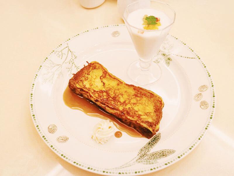 五感・フレンチトーストセット2