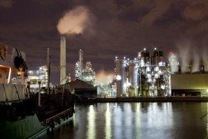 川崎の工場夜景