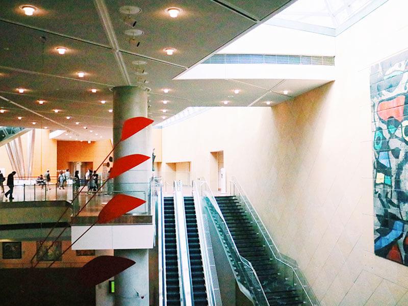 国立国際美術館 内観