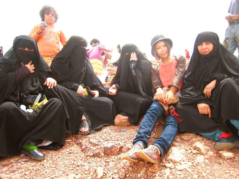 イスラム圏の女性たち